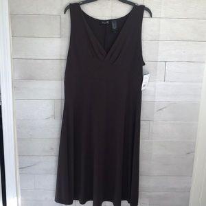 Axcess  Espresso brown dress